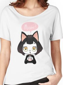 Meow? Women's Relaxed Fit T-Shirt