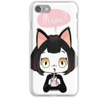 Meow? iPhone Case/Skin