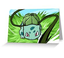 Bulbasaur | Vine Whip Greeting Card