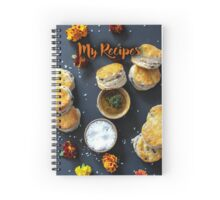 My Recipes - scones Spiral Notebook