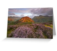 Pikes and Heather Greeting Card