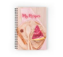 My Recipes - tarts Spiral Notebook