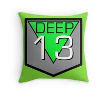 Deep 13 Throw Pillow