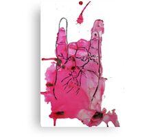 Devil's Fingers Rock Print Canvas Print