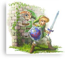 TGM Legend of Zelda Metal Print
