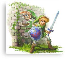 TGM Legend of Zelda Canvas Print