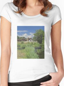 San Geronimo Chapel Women's Fitted Scoop T-Shirt