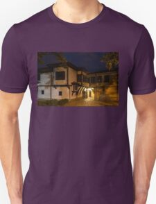 Brightly Lit Bar - a Late Night Invitation to an Exquisite Revival House  Unisex T-Shirt