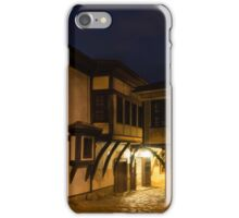 Brightly Lit Bar - a Late Night Invitation to an Exquisite Revival House  iPhone Case/Skin