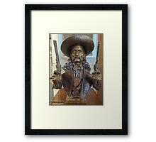 """""""Wild Bill"""" Framed Print"""