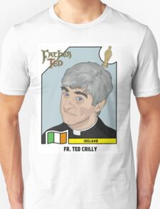 Father Ted Panini Sticker Unisex T-Shirt