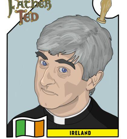 Father Ted Panini Sticker Sticker
