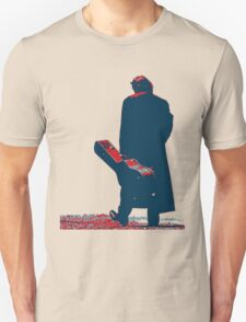 hope art the man walking with his guitar Unisex T-Shirt