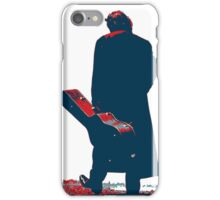 hope art the man walking with his guitar iPhone Case/Skin