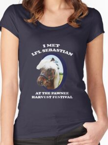 Li'l Sebastian T-Shirt Women's Fitted Scoop T-Shirt