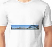 Sydney Harbour Panoramic Unisex T-Shirt