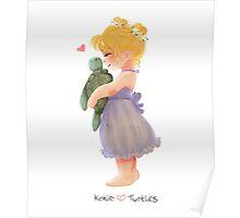 Kokie loves Turtles Poster