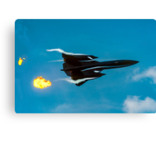 Lockheed SR-71A 64-17960 head banger Canvas Print