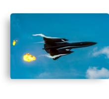 Lockheed SR-71A 64-17960 head banger Canvas Print