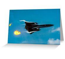 Lockheed SR-71A 64-17960 head banger Greeting Card