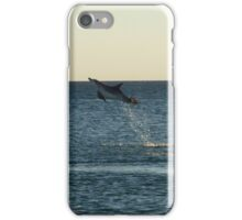 I can fly!!! Dolphin Jump iPhone Case/Skin