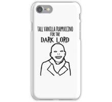 Voldemort Starbucks iPhone Case/Skin