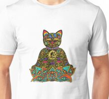 PEACE MANEKI NEKO LUCKY BLACK CAT Unisex T-Shirt