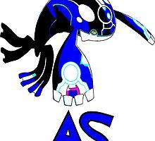 Primal Kyogre - Alpha Sapphire by Gurdokk