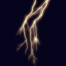 Lightning Bolt on Indigo by Rasendyll