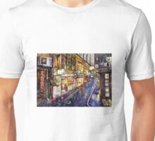 Rainy Melbourne Unisex T-Shirt