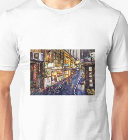 Rainy Melbourne Unisex T-Shirt