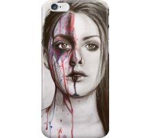 Colour Face  iPhone Case/Skin