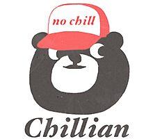 no chill bear Photographic Print