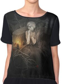 I of The Mourning Chiffon Top