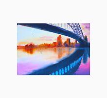 opera house harbour bridge - purple sunset  Unisex T-Shirt
