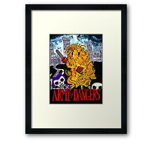 Army of Dangers Framed Print