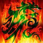 DRAGON RAMPANT by FieryFinn77