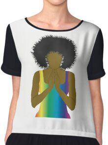 Praying Woman~ Chiffon Top