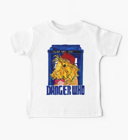 Danger Who, the Eleventh Guinea Pig Doctor Baby Tee