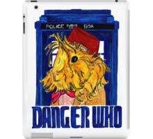 Danger Who, the Eleventh Guinea Pig Doctor iPad Case/Skin
