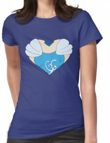 Cinderella's Heart Womens Fitted T-Shirt
