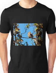 House Sparrow at Llwyn-yr-eos Farm Unisex T-Shirt