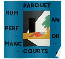Human Performance Album by Parquet Courts Poster