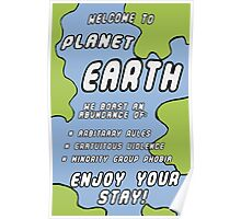 Welcome to Earth! Poster
