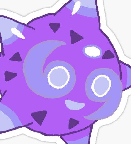 Purple Core Minior Sticker