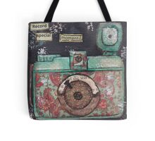 Record special moments Tote Bag