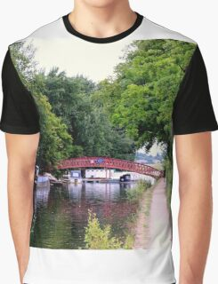 The Little Red Bridge Graphic T-Shirt