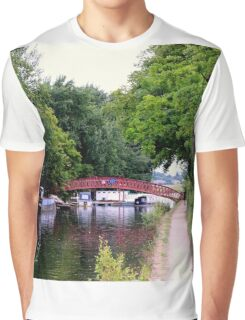 The Little Red Bridge Graphic T-Shirt