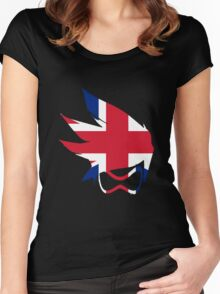 Tracer Union Jack Spray Women's Fitted Scoop T-Shirt
