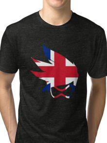Tracer Union Jack Spray Tri-blend T-Shirt